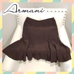 Armani skirt 4 brown collezioni